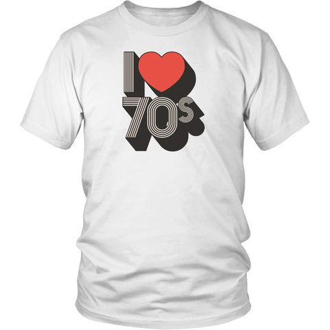 I Love 70's (Full color) - T-Shirts & Tanks