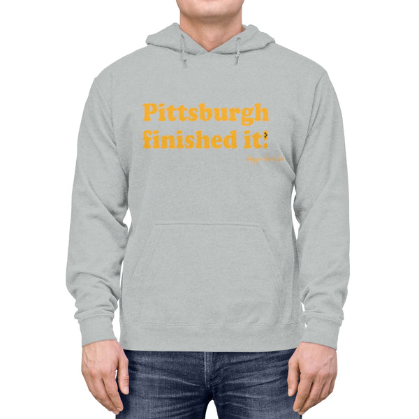 Pittsburgh finished it! - Unisex Lightweight Hoodie
