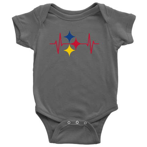Pittsburgh - Steelers EKG - Baby, Infant, Toddler, Youth T-Shirts