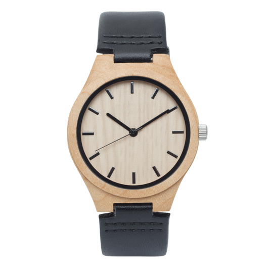 Auk - Maple Wood Watch - Leathwoods