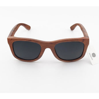 Handcrafted Red Sandalwood Sunglasses - Leathwoods