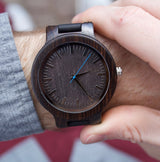 Marlin - Handcrafted Wood Watch - Leathwoods