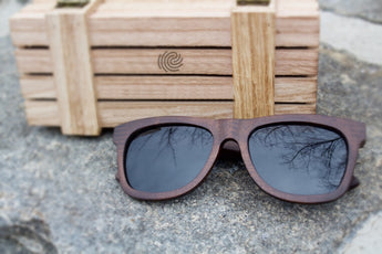 Ebony Wood Sunglasses - Leathwoods