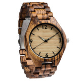 Blonde - Handcrafted Natural Wood Watch - Leathwoods