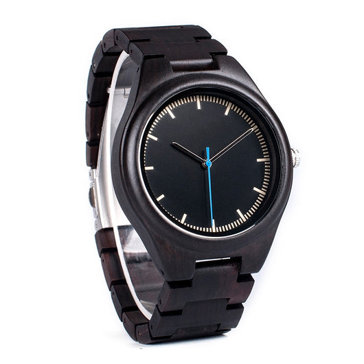 Morpho - Natural Wooden Watch - Leathwoods