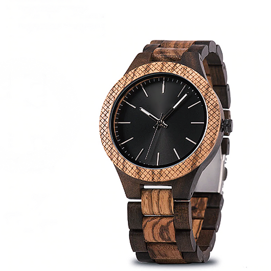 Walnut - Natural Wooden Watch - Leathwoods
