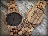 Camal - Natural Wooden Watch - Leathwoods