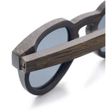 Handcrafted Natural Ebony Wood Sunglasses - Leathwoods