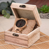 Espresso - Handmade Wooden Watch - Leathwoods