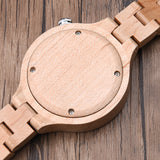 Borgoña - Wooden Watch for Women's - Leathwoods