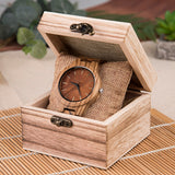 Fulvous - Natural Wood Watch - Leathwoods