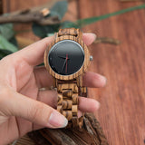 Mouflon - Natural Wood Watch - Leathwoods