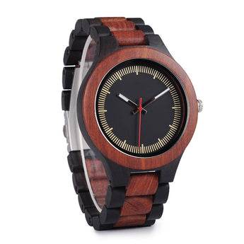 Currant - Handcrafted Natural Wood Watch - Leathwoods