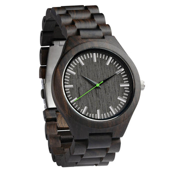 Forest - Handcrafted Natural Wooden Watch - Leathwoods