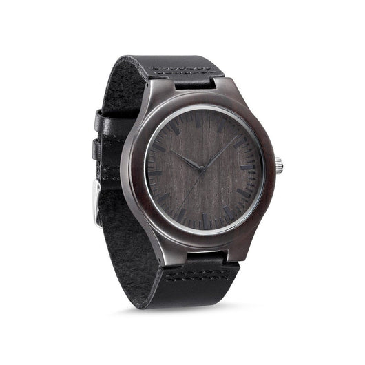 Anchor - Handcrafted Natural Wood Wristwatch - Leathwoods