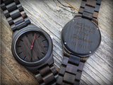 Tuscan - Natural Wood Watch - Leathwoods