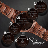 Orca - Wooden Watch for Women's - Leathwoods