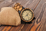 Monarch - Natural Wooden Watch - Leathwoods