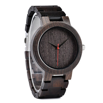 Python - Handcrafted Natural Wood Watch - Leathwoods