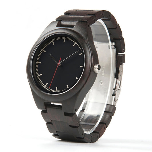 Lory - Minimalist Wood Watch - Leathwoods