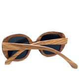 Handcrafted Natural Wood Goggles - Leathwoods