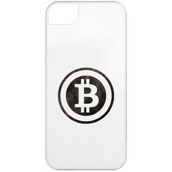 Bitcoin Distressed Logo iPhone 5 Case