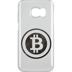 Bitcoin Distressed Logo Samsung Galaxy S6 Clip