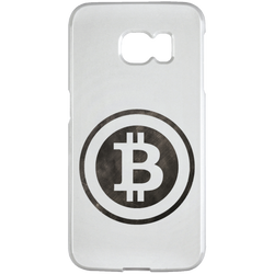 Bitcoin Distressed Logo Samsung Galaxy S6 Edge Case