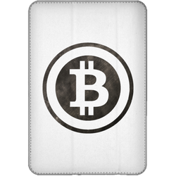 Bitcoin Distressed Logo iPad Mini Flip Case