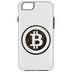 Bitcoin Distressed Logo iPhone 6 Plus Tough Case