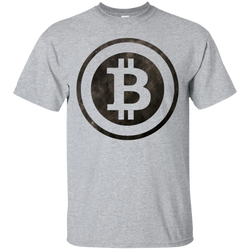 Bitcoin Distressed Logo Ultra Cotton T-Shirt