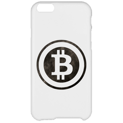 Bitcoin Distressed Logo iPhone 6 Plus Case