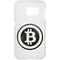 Bitcoin Distressed Logo Samsung Galaxy S7 Phone Case