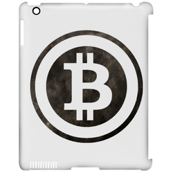 Bitcoin Distressed Logo iPad Clip Case