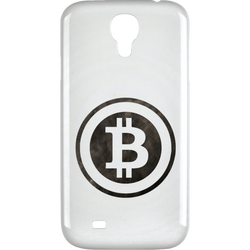 Bitcoin Distressed Logo Samsung Galaxy 4 Case