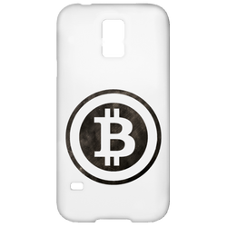 Bitcoin Distressed Logo Samsung Galaxy S5 Case