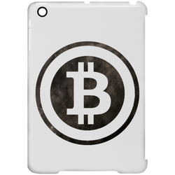 Bitcoin Distressed Logo iPad Mini Clip Case