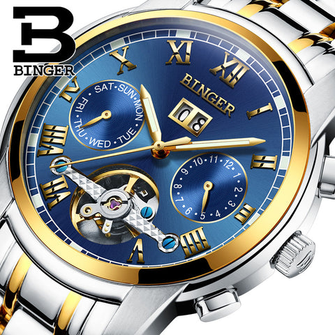 BINGER watches men luxury brand
