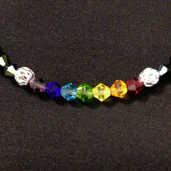 Chakra Bracelet // Glass Beaded Bracelet