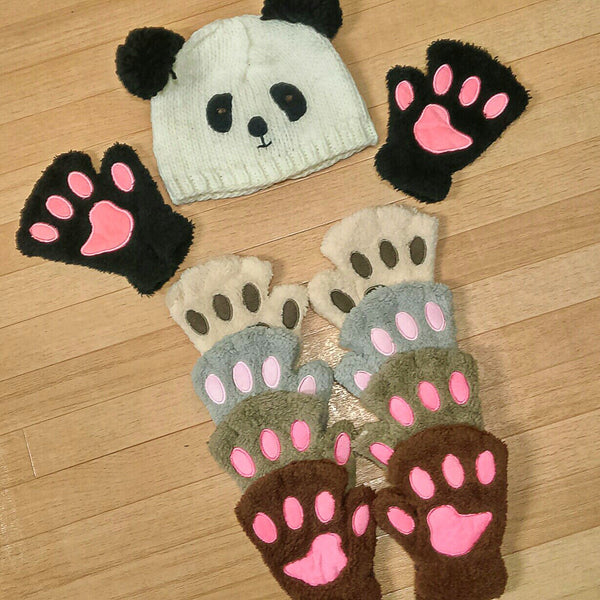 Paw Gloves (Bear/Cat Paws)