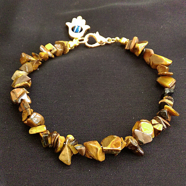 Tiger's Eye Bracelet // Gemstone Bracelet