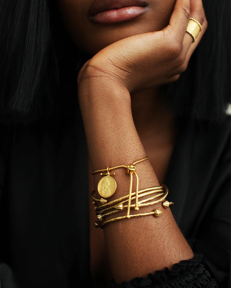 The CARIBBEAN BANGLE (single bangle)