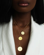 THE DOUBLE UP COIN NECKLACE STACK
