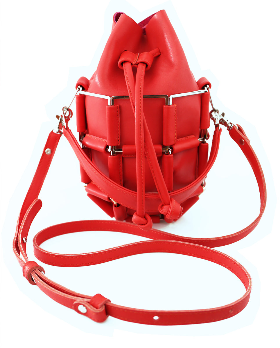 THE GRENADE BAG IN CHERRY BOMB