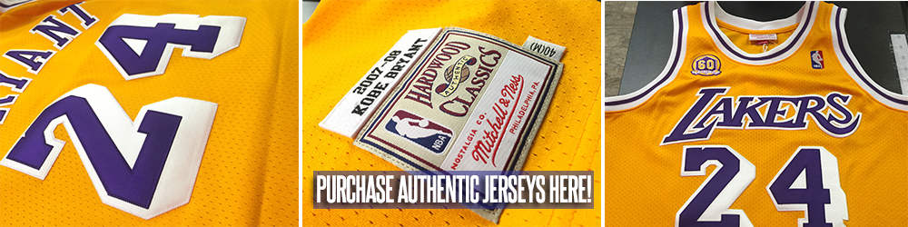 MITCHELL & NESS JERSEYS