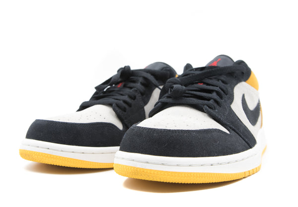 Air Jordan 1 Low University Gold Black (Preowned)
