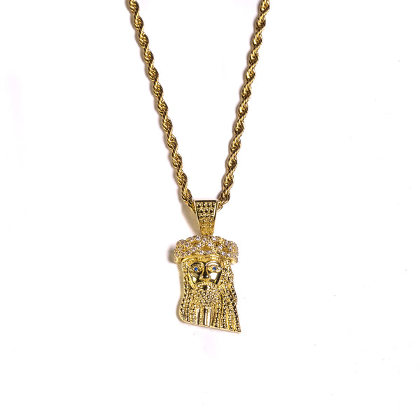 MINI JESUS PIECE- 2018 version - ACCESSORIES, Golden Gilt, SNEAKER STUDIO, GOLDEN GILT, DESIGN BY TSS