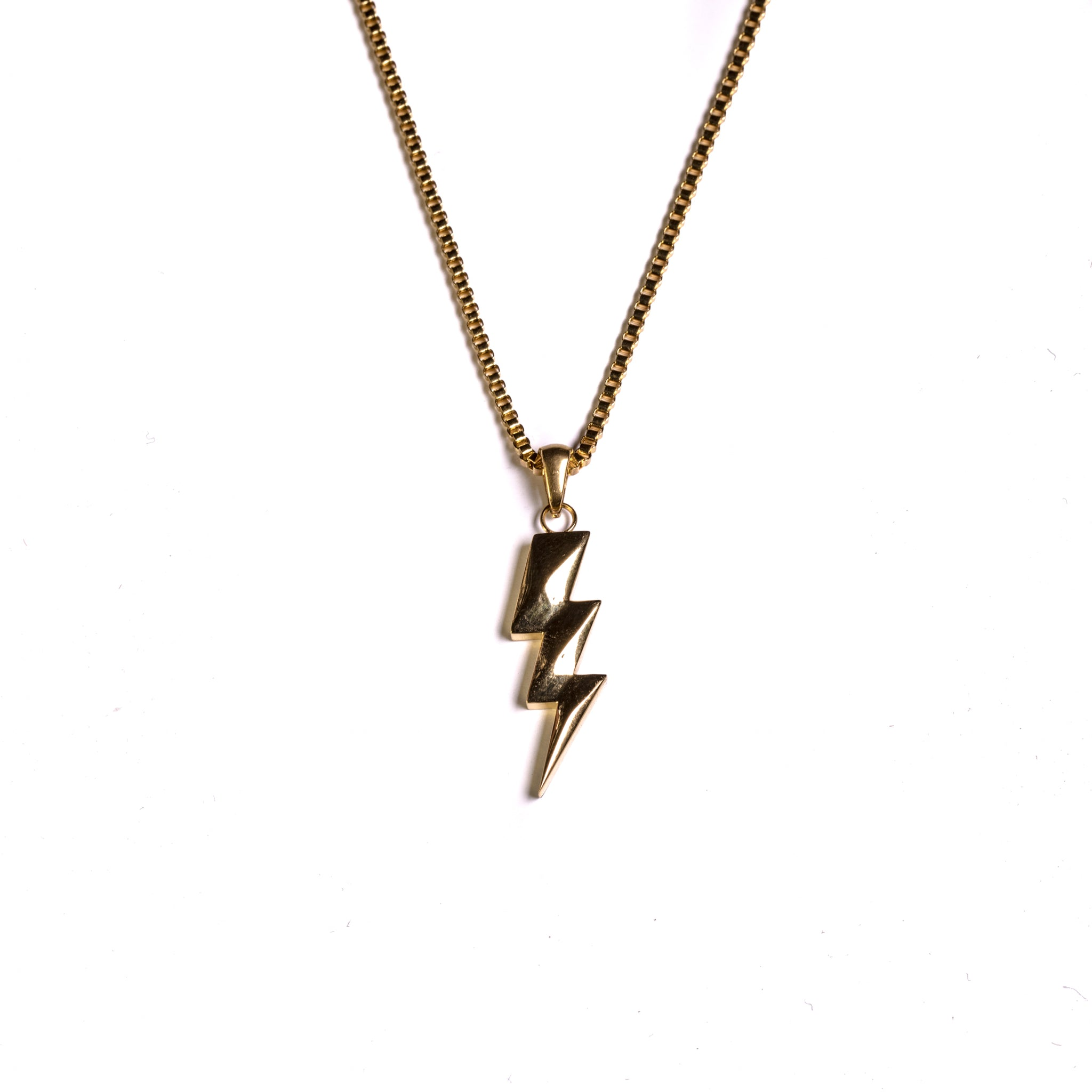 Flash Bolt Pendant - ACCESSORIES, Golden Gilt, SNEAKER STUDIO, GOLDEN GILT, DESIGN BY TSS