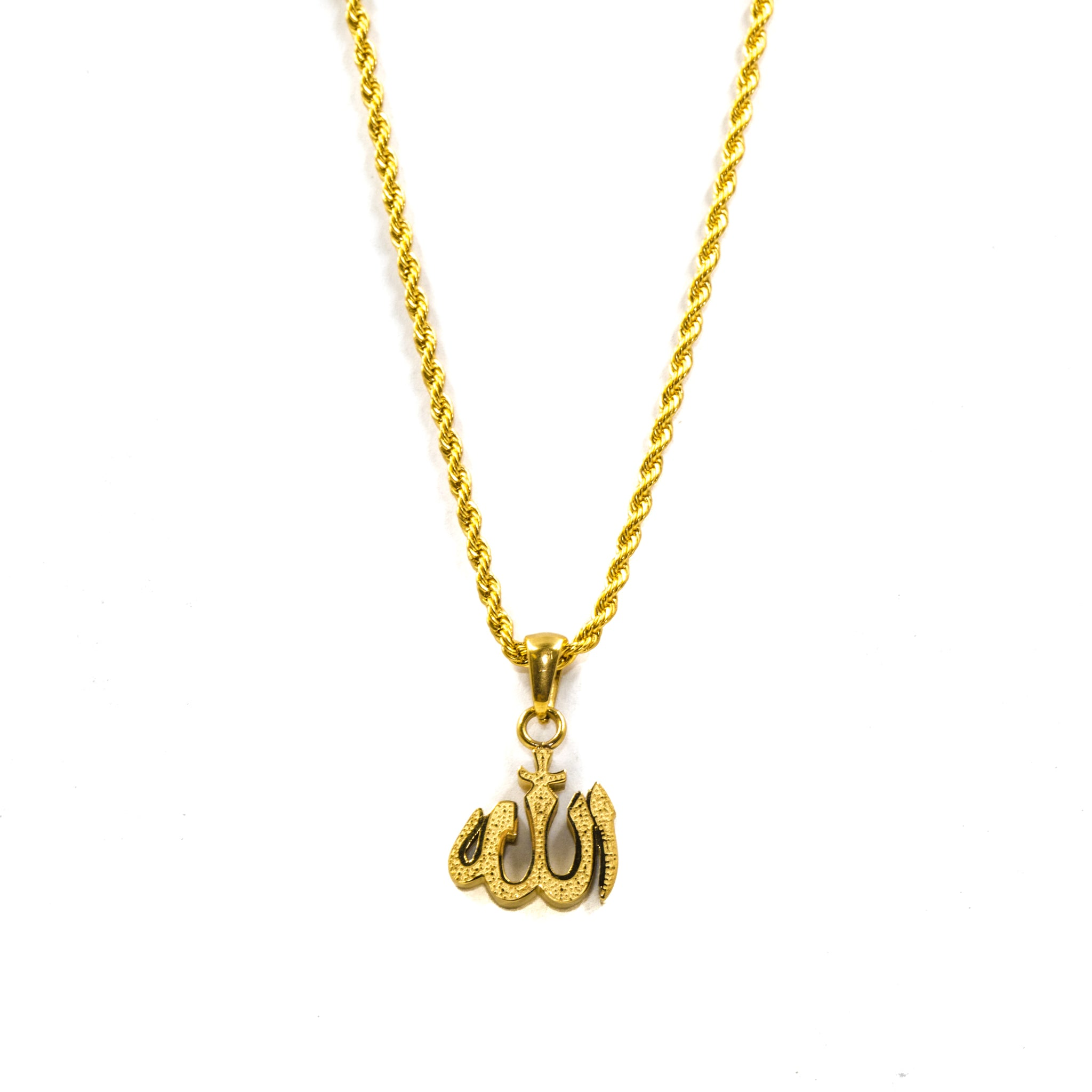 Micro Allah - 18k Gold Plated - ACCESSORIES, Golden Gilt, SNEAKER STUDIO, GOLDEN GILT, DESIGN BY TSS