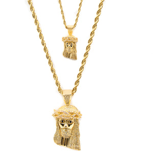 Jesus Piece Bundle - ACCESSORIES, Golden Gilt, SNEAKER STUDIO, GOLDEN GILT, DESIGN BY TSS